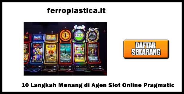 agen slot online pragmatic